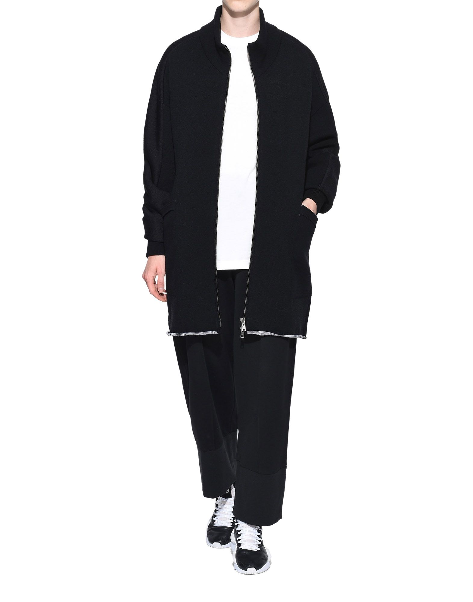 Y-3 Y-3 Knitted Stacked Logo Parka Blazer Woman a