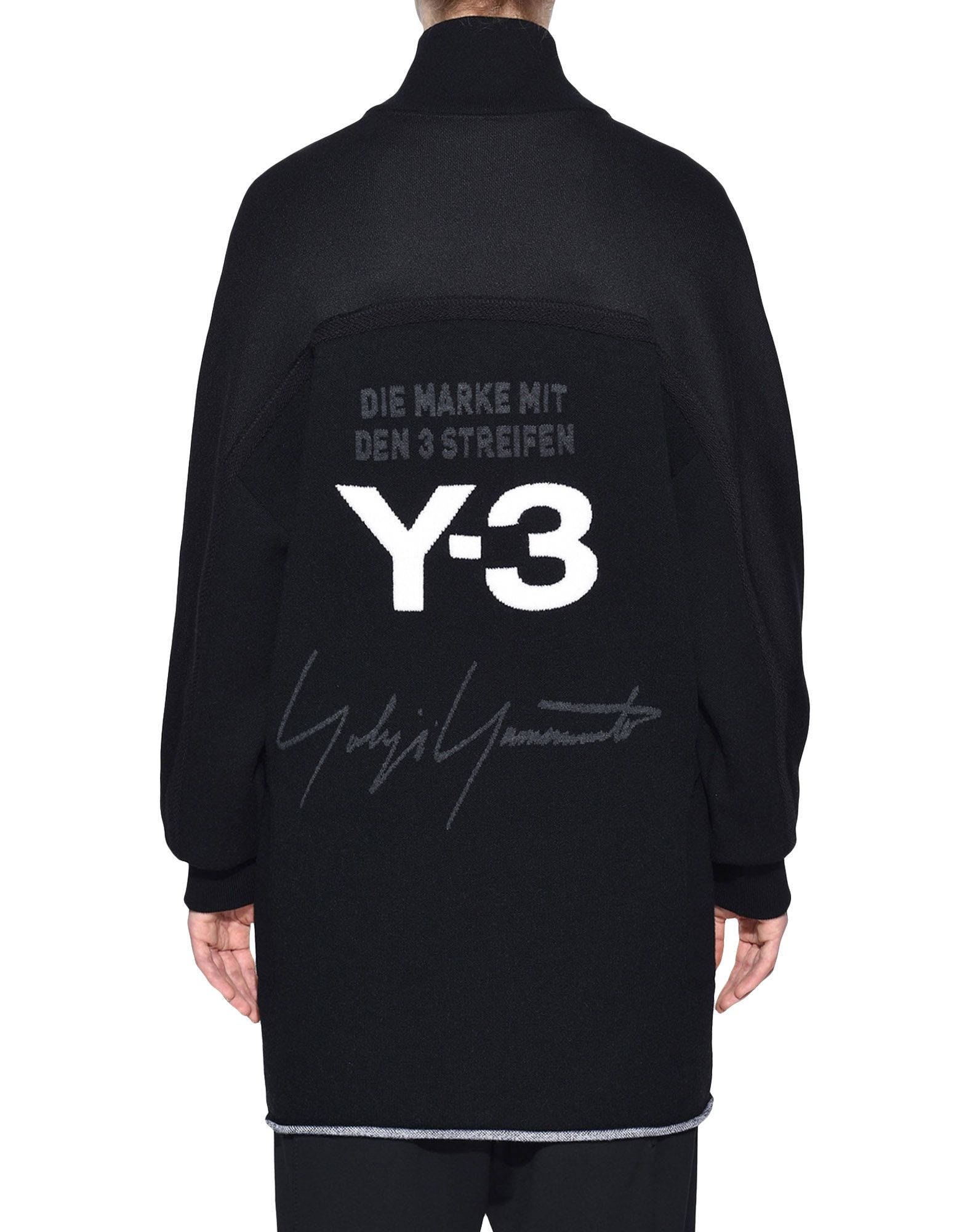 Y-3 Y-3 Knitted Stacked Logo Parka Blazer Woman d