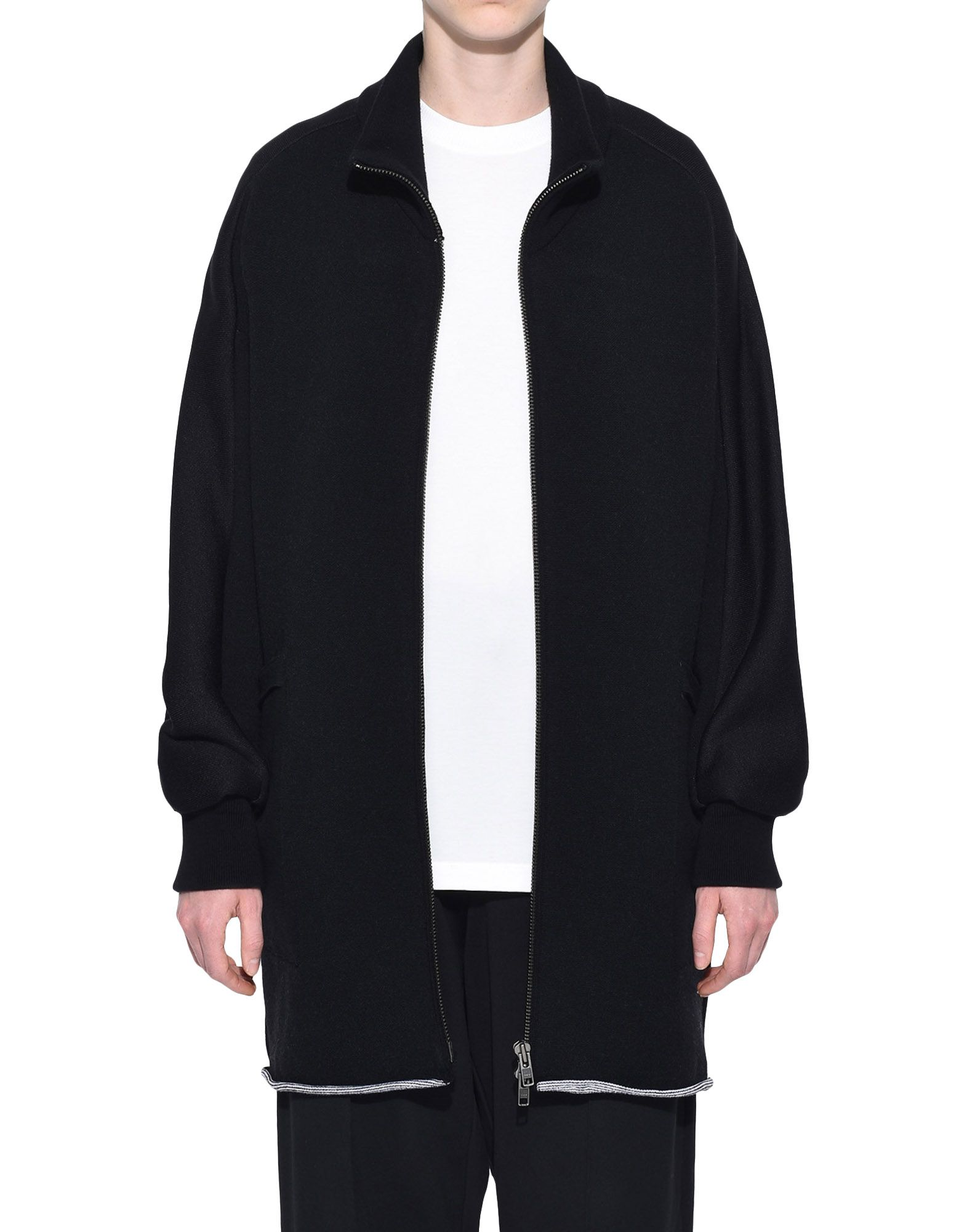 Y-3 Y-3 Knitted Stacked Logo Parka Blazer Woman r