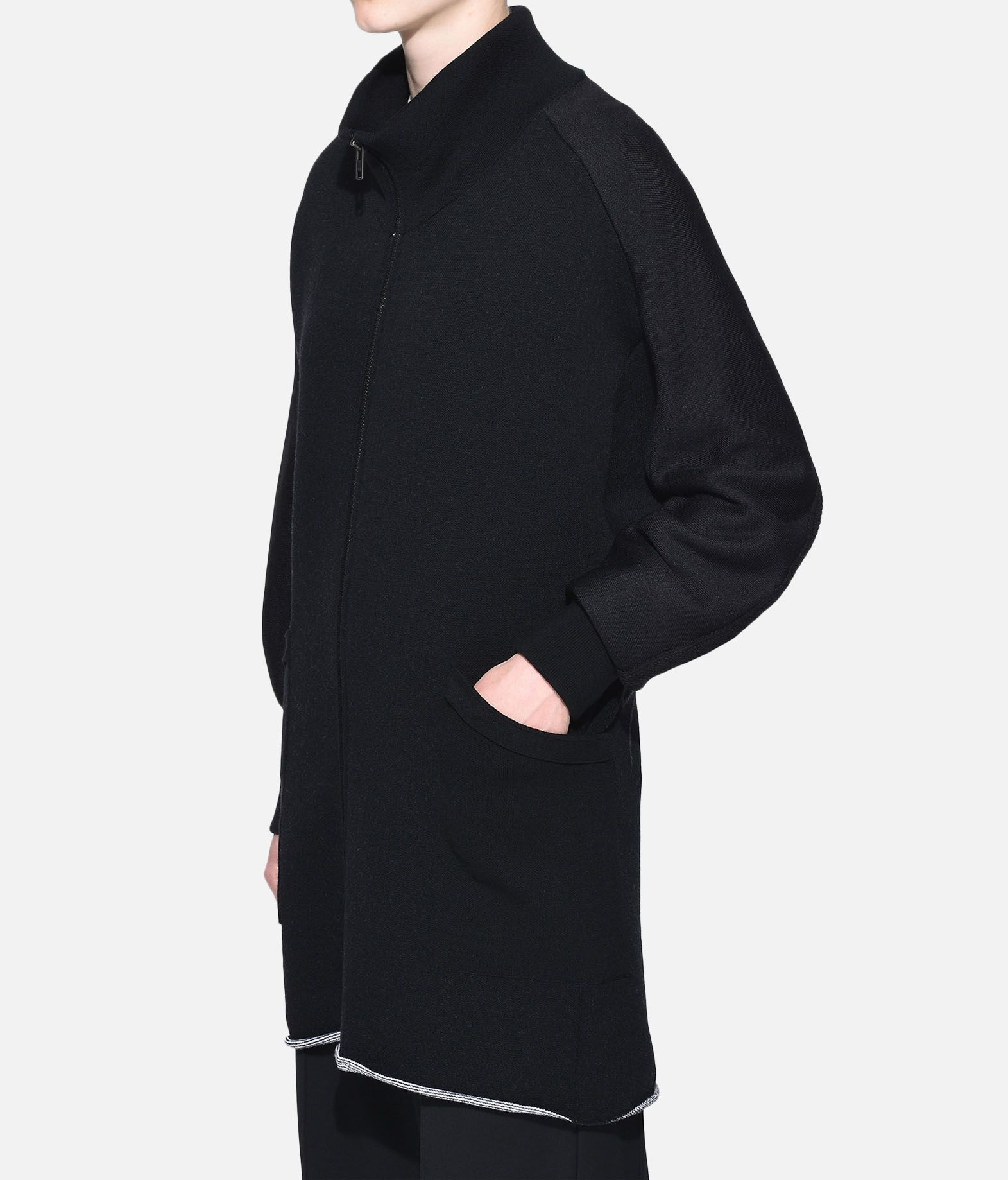 Y-3 Y-3 Knitted Stacked Logo Parka Blazer Woman e