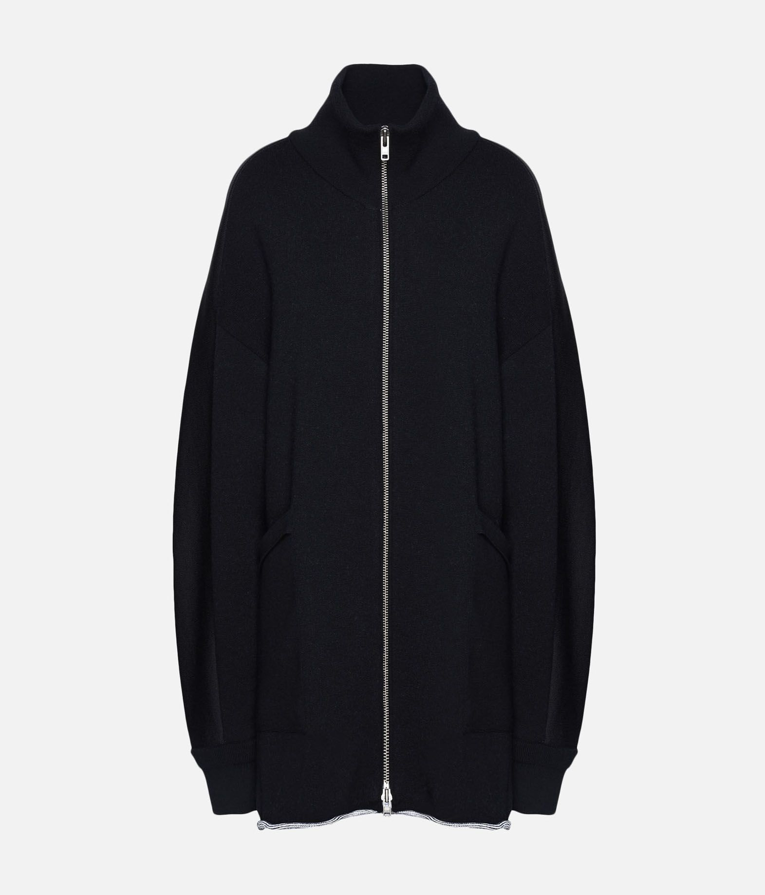 Y-3 Y-3 Knitted Stacked Logo Parka Blazer Woman f