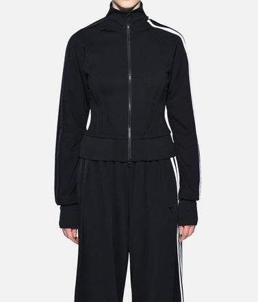Y-3 Track top Woman Y-3 3-Stripes Selvedge Matte Track Jacket r
