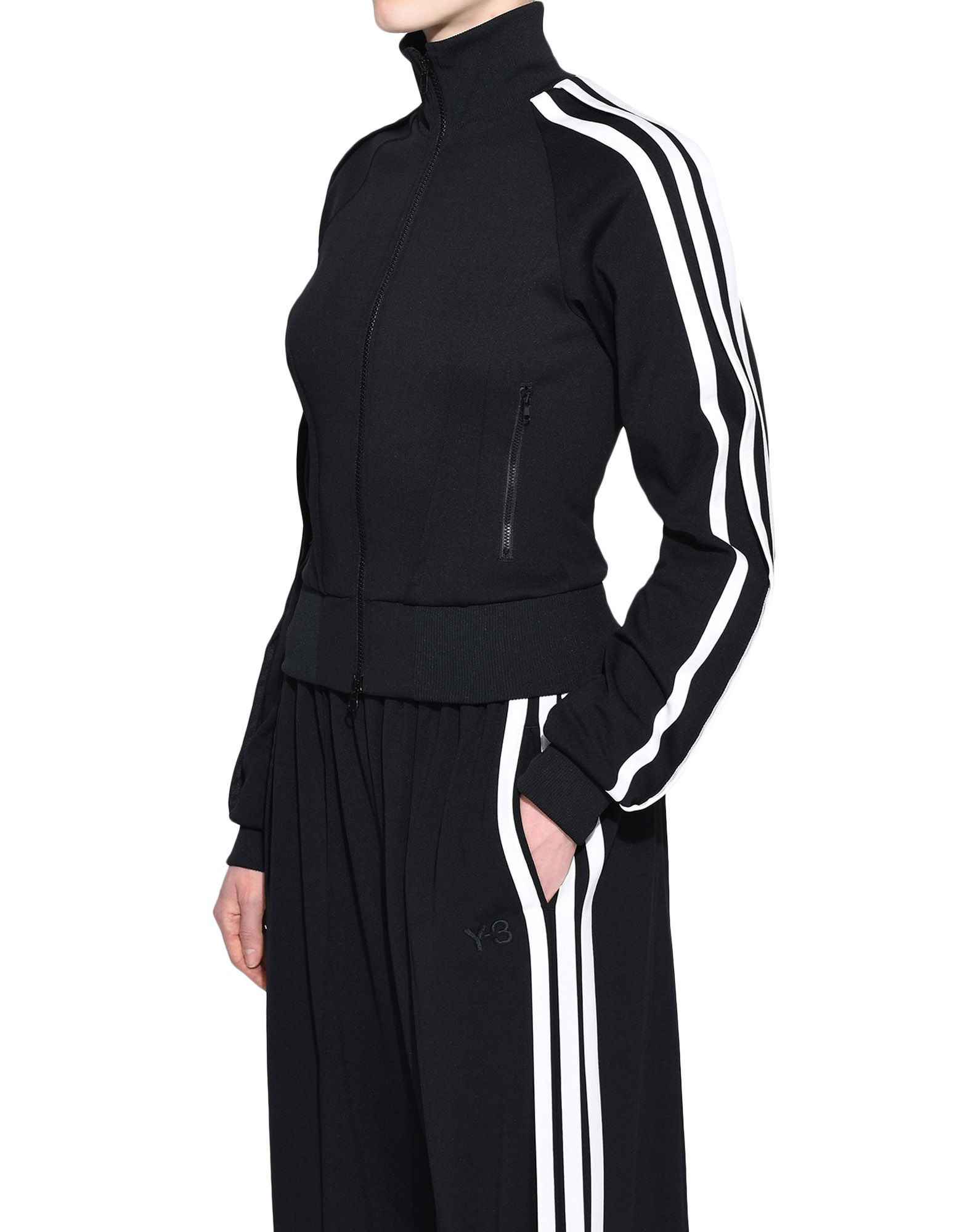 Y-3 Y-3 3-Stripes Selvedge Matte Track Jacket Track top Woman e