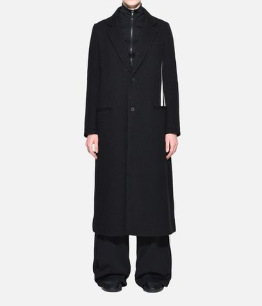Y-3 Blazer Woman Y-3 3-Stripes Tailored Wool Coat r