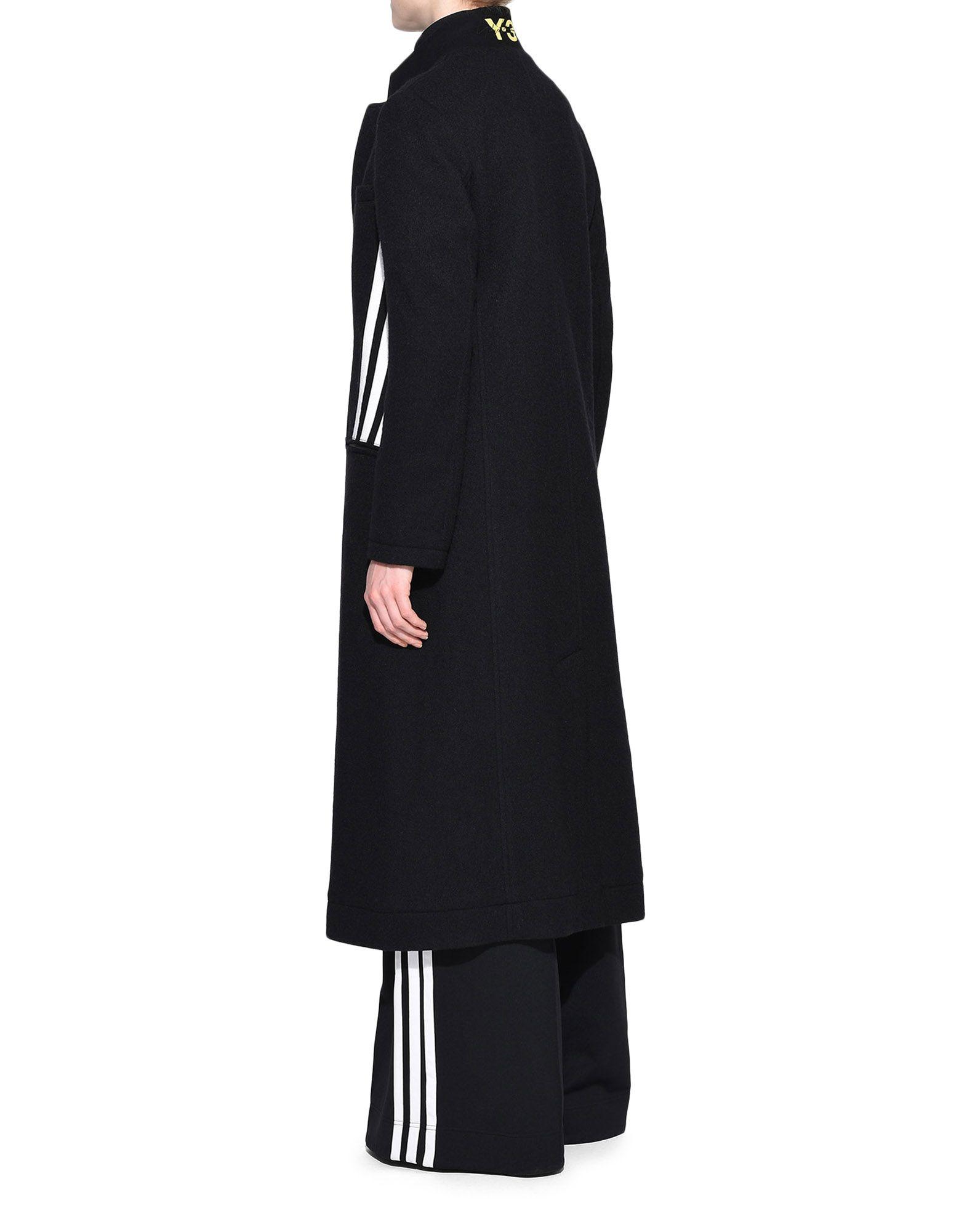 Y-3 Y-3 3-Stripes Tailored Wool Coat フォーマルジャケット レディース e