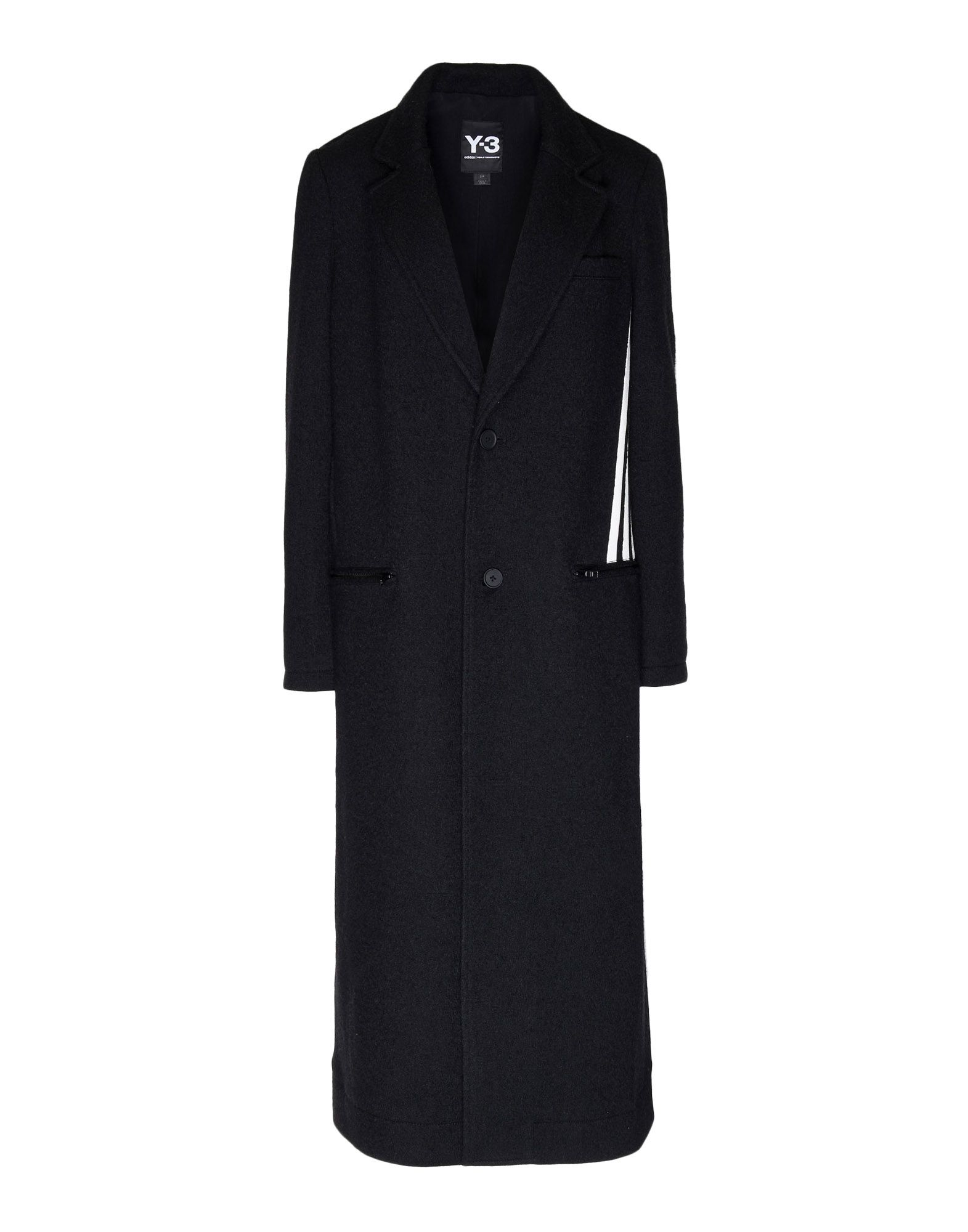 Y-3 Y-3 3-Stripes Tailored Wool Coat Blazer Woman f