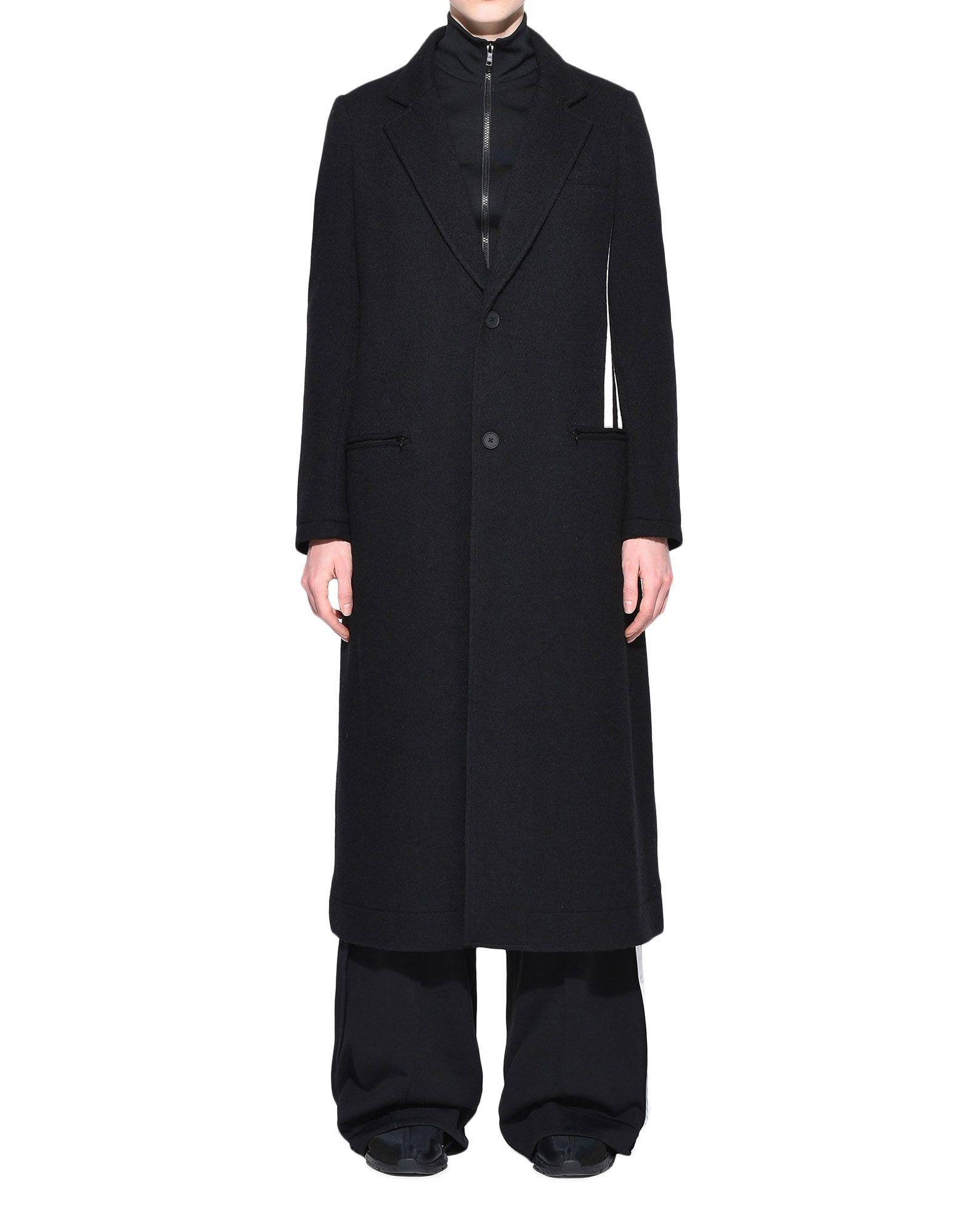 Y-3 Y-3 3-Stripes Tailored Wool Coat フォーマルジャケット レディース r