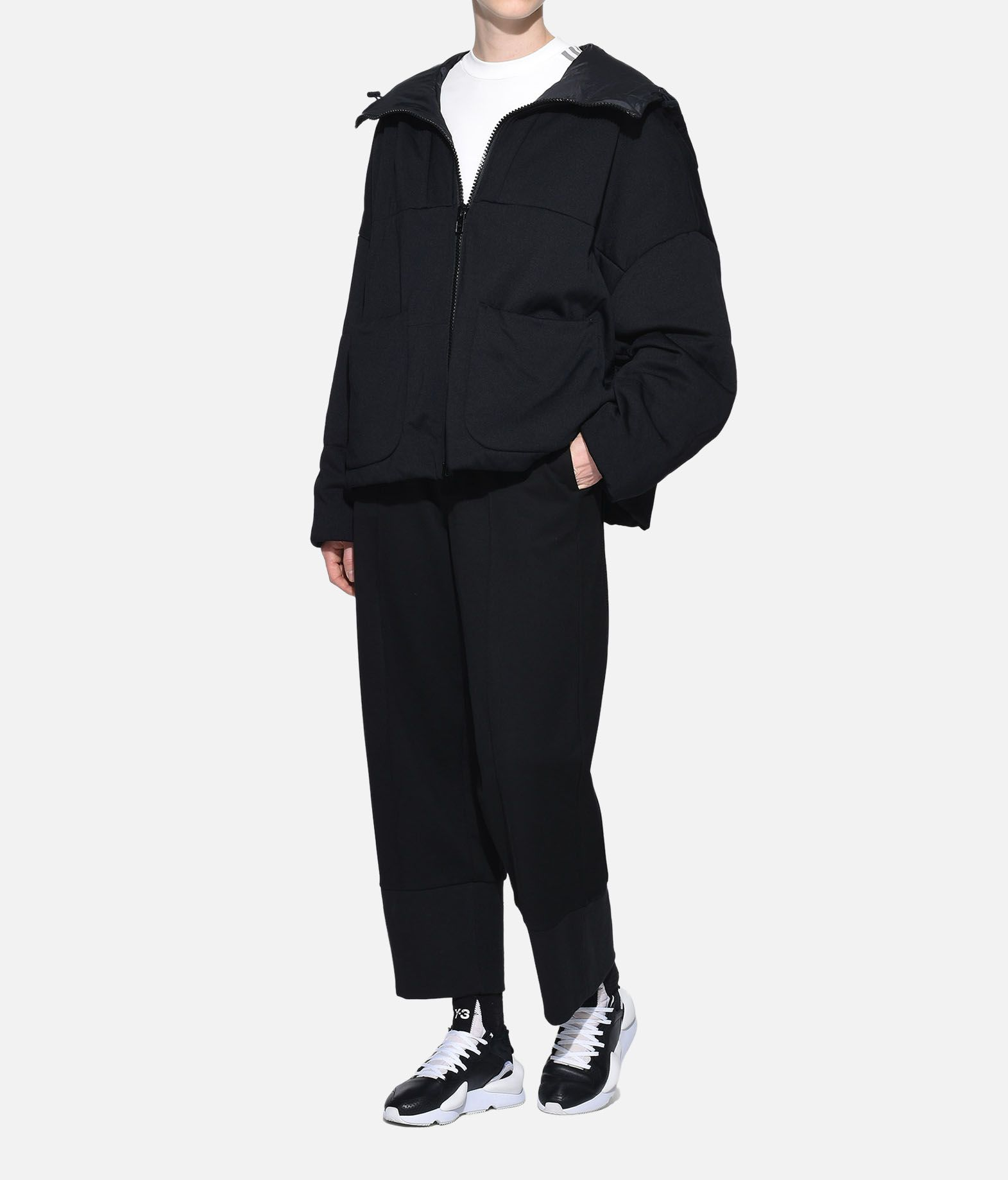 Y-3 Y-3 Padded Hoodie Jacket Giacca Donna a