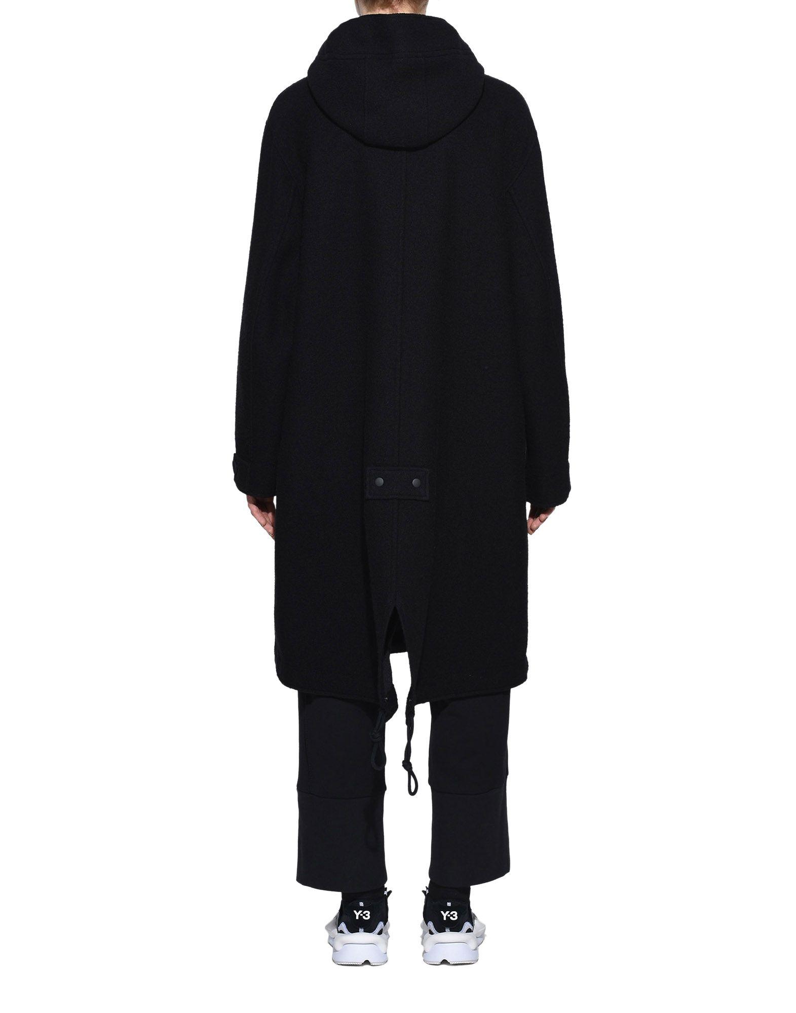 Y-3 Y-3 Reversible Wool Parka Coat Woman d