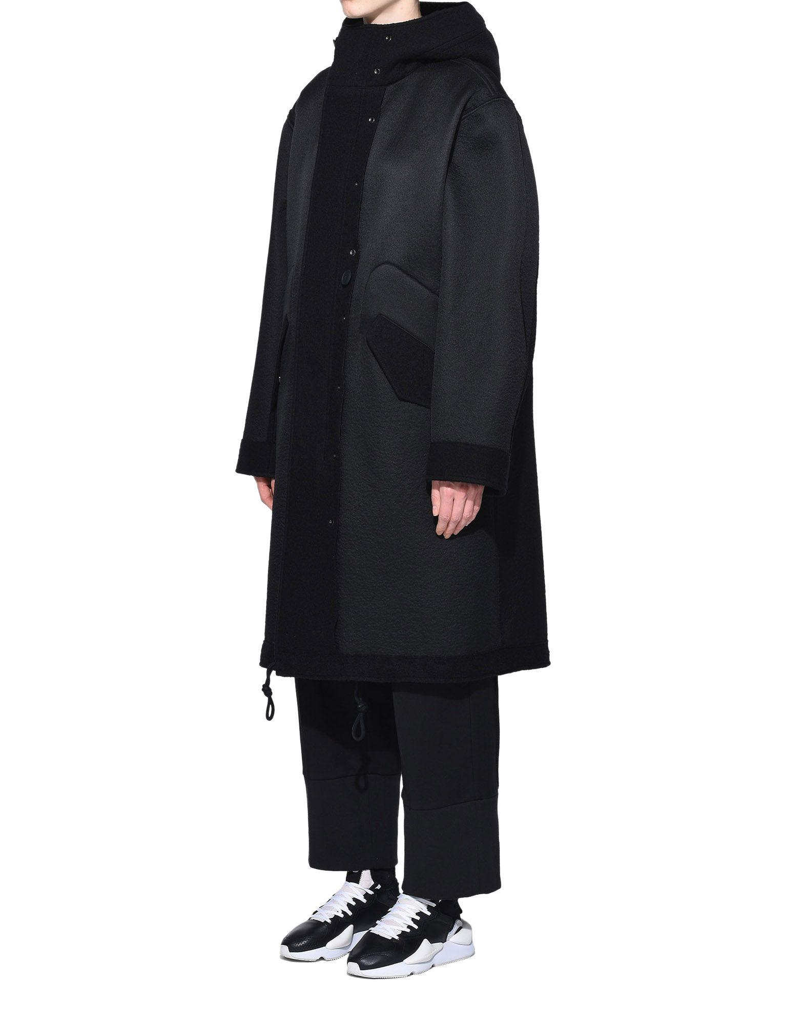 Y-3 Y-3 Reversible Wool Parka Coat Woman e