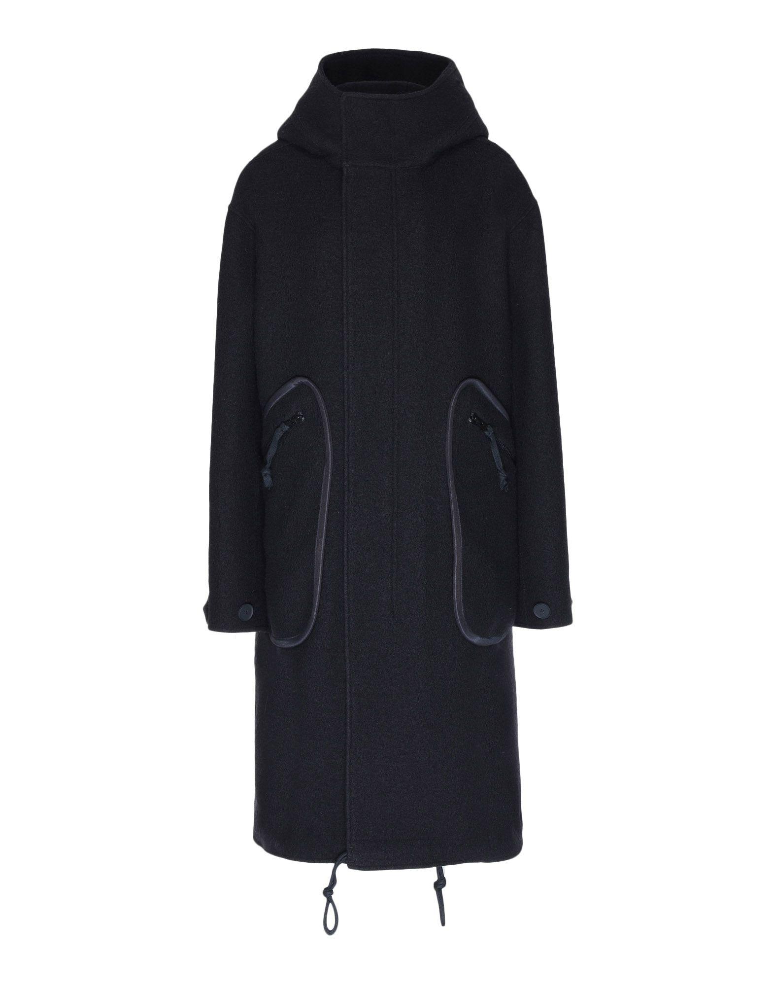 Y-3 Y-3 Reversible Wool Parka Coat Woman f