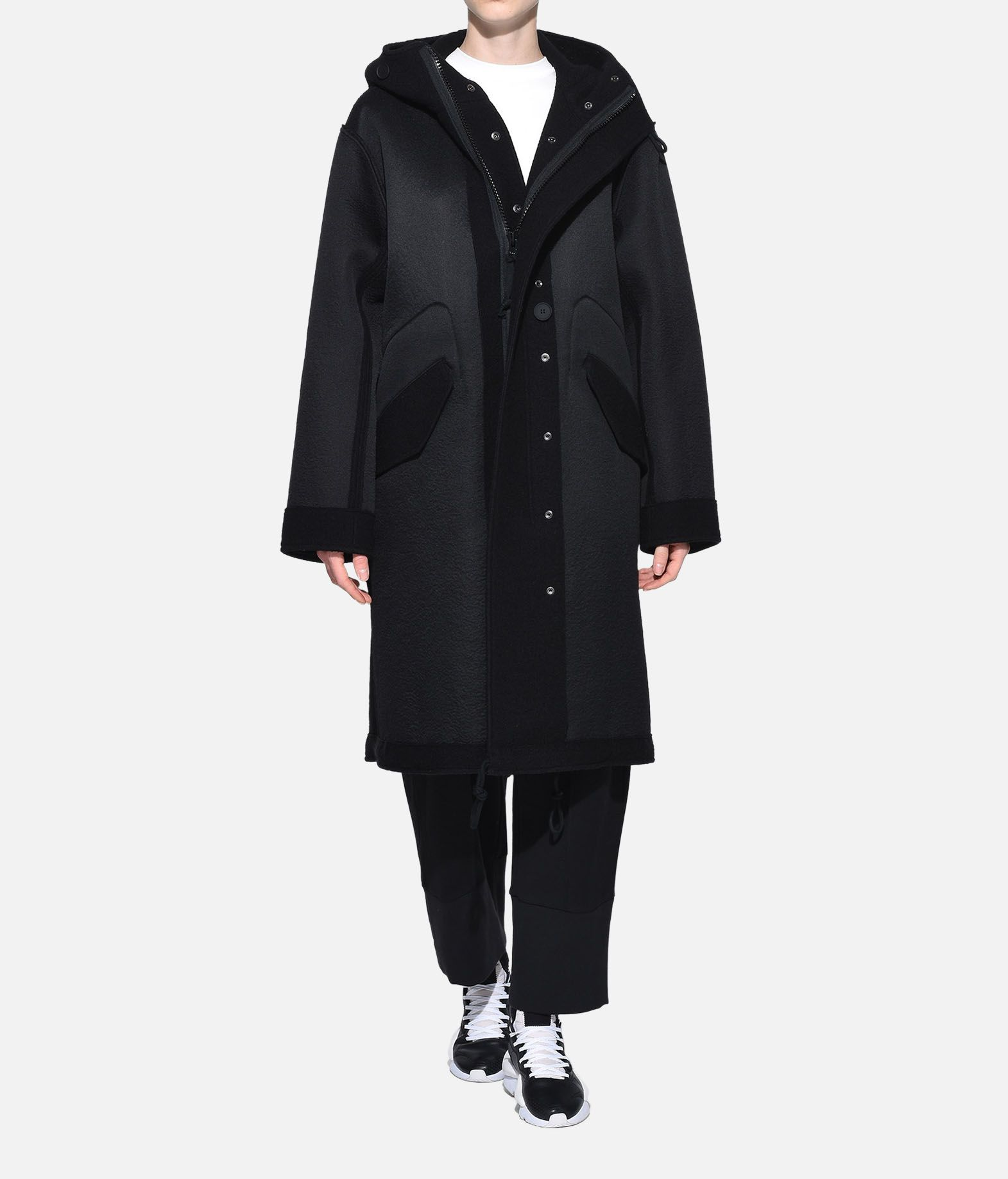 Y-3 Y-3 Reversible Wool Parka Coat Woman a