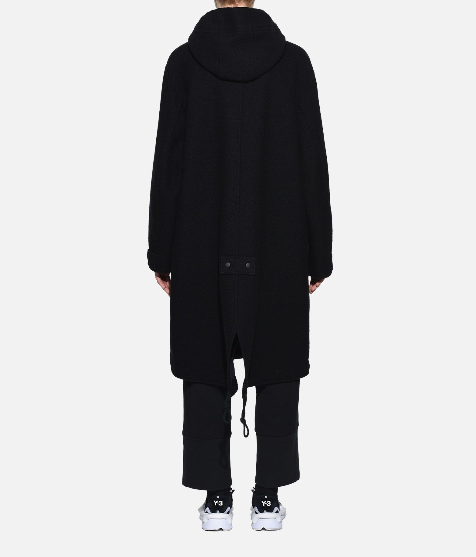 Y-3 Y-3 Reversible Wool Parka Coat Woman d