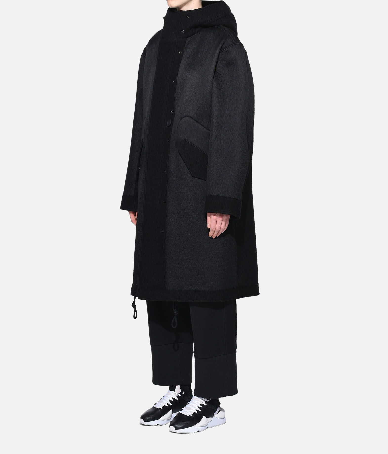 Y-3 Y-3 Reversible Wool Parka Coat Woman e