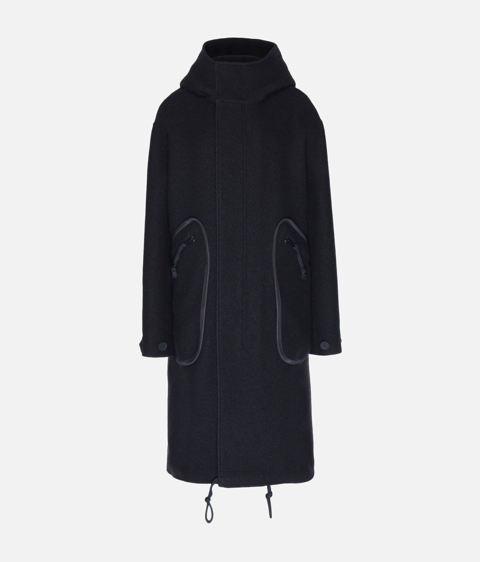Y-3 Y-3 Reversible Wool Parka Coat Woman f