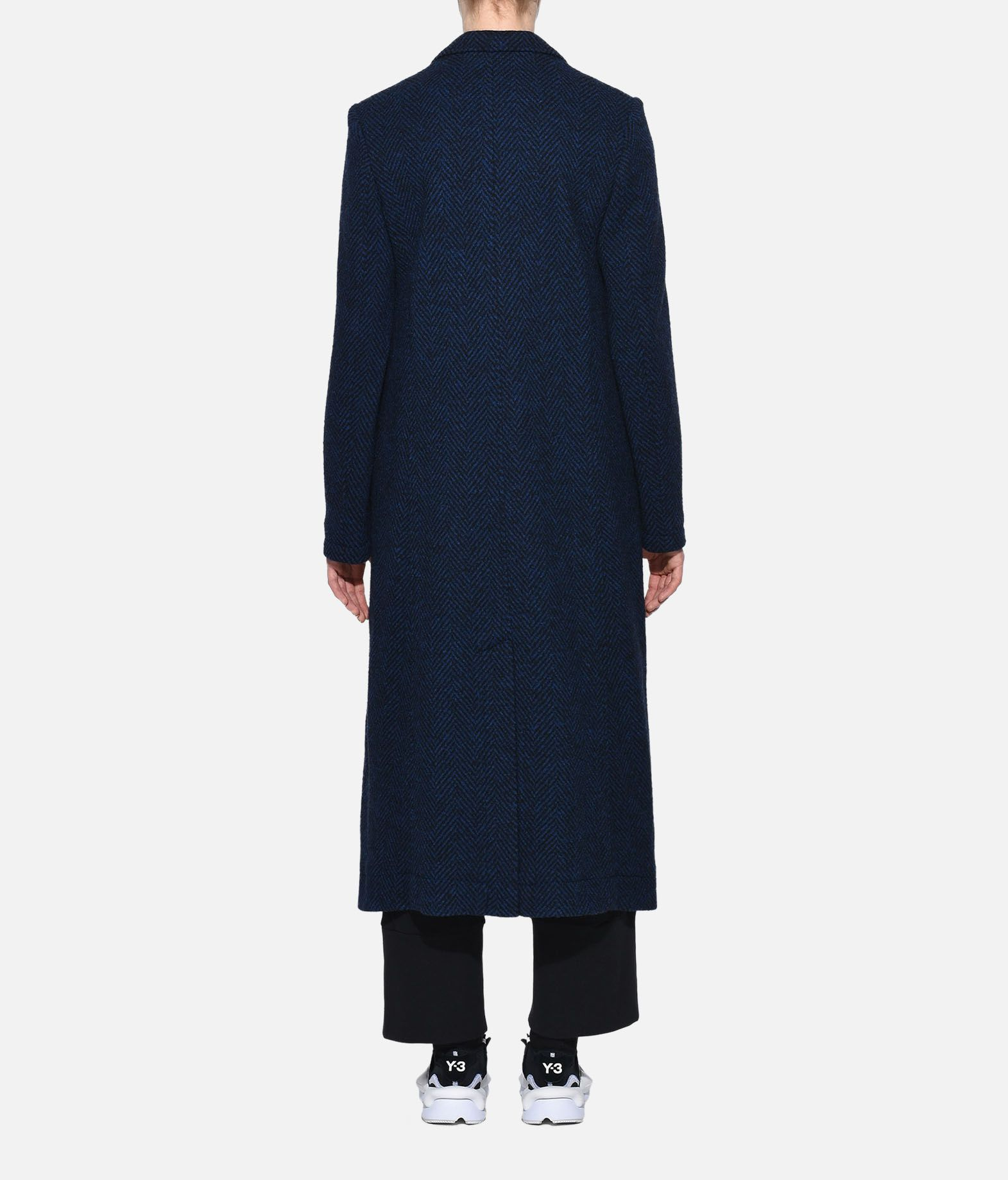 Y-3 Y-3 3-Stripes Tailored Wool Coat Coat Woman d