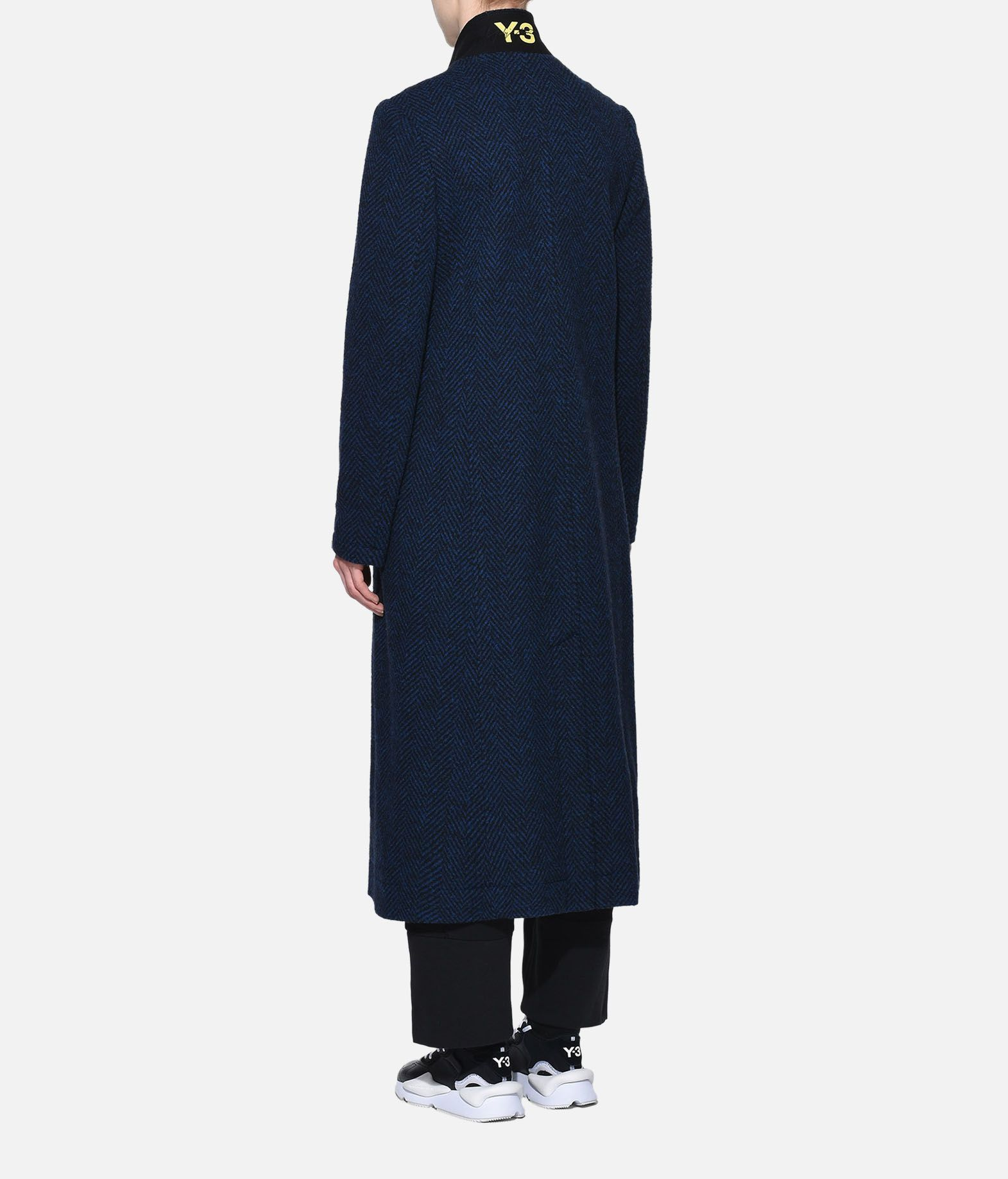 Y-3 Y-3 3-Stripes Tailored Wool Coat Coat Woman e