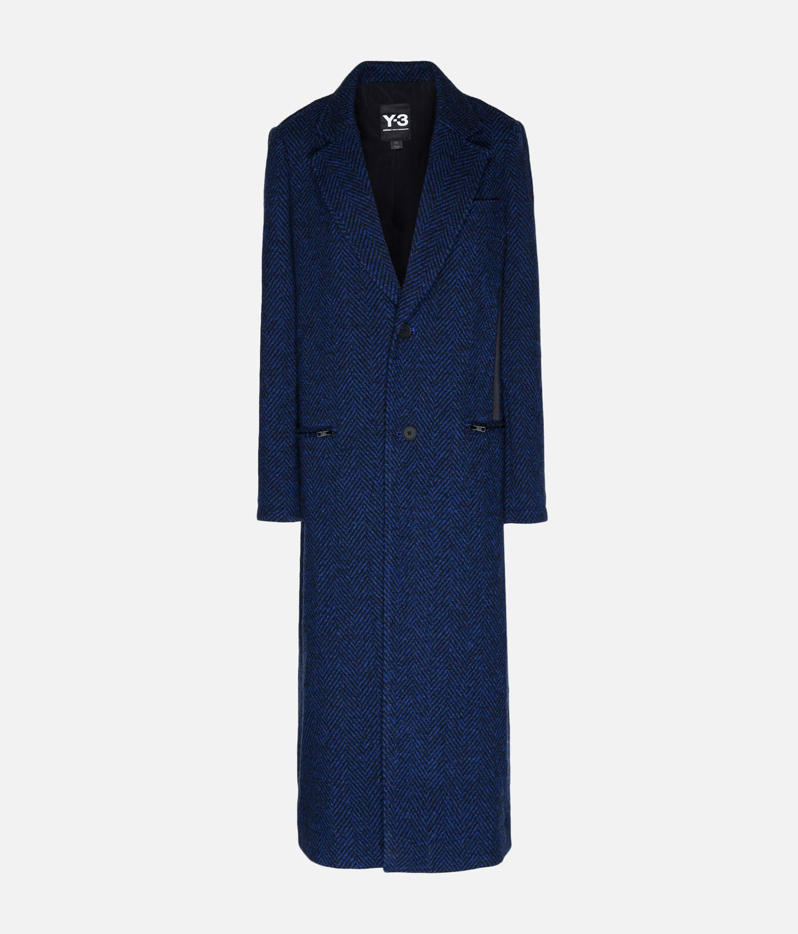Y-3 Y-3 3-Stripes Tailored Wool Coat Coat Woman f