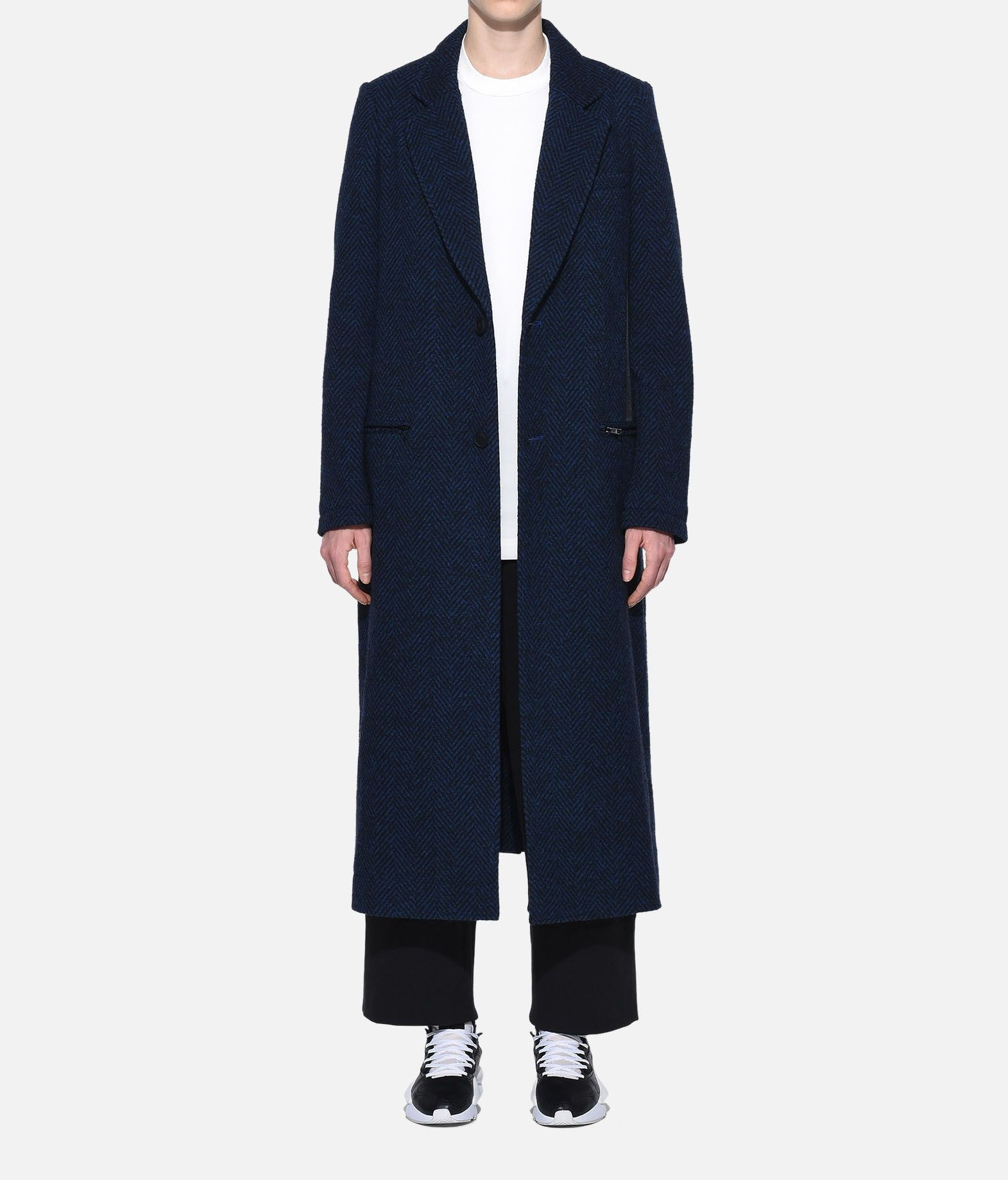 Y-3 Y-3 3-Stripes Tailored Wool Coat Coat Woman r