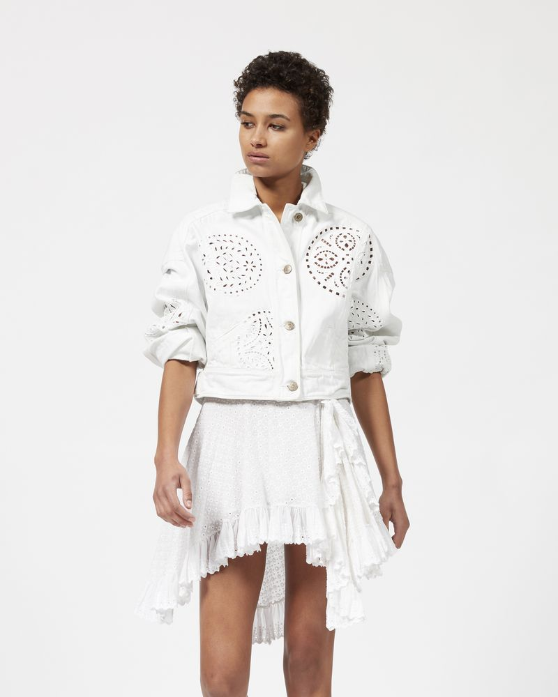 RENA embroidered denim jacket  ISABEL MARANT