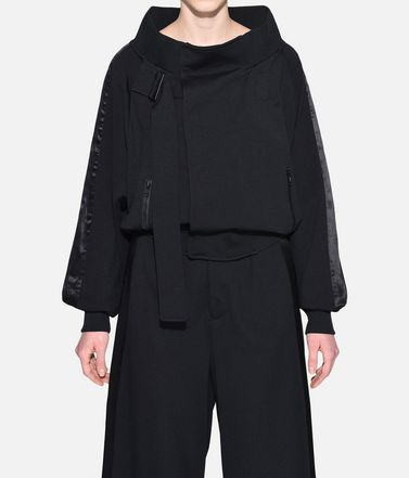 Y-3 Track top Woman Y-3 Matte Track Jacket r