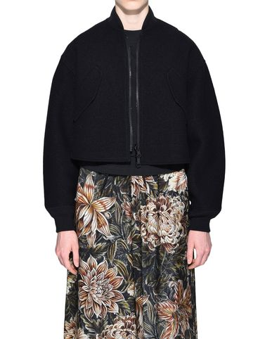 Y-3 Reversible Cropped Wool Bomber Jacket COATS & JACKETS woman Y-3 adidas