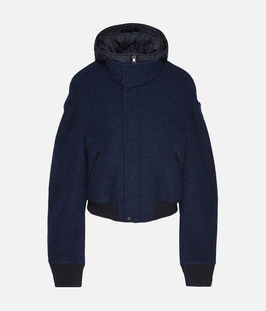 Y-3 Wool Hoodie Jacket