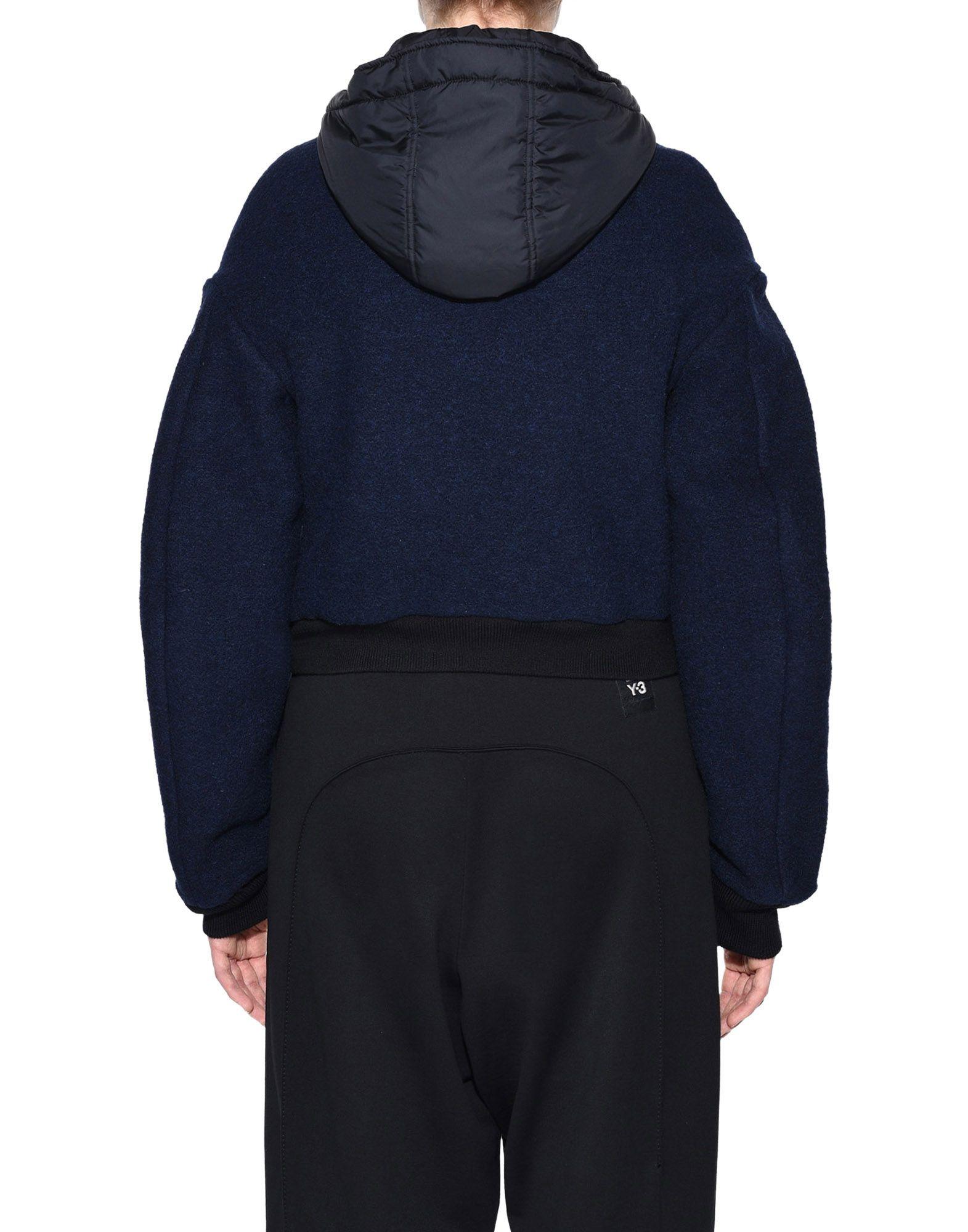 Y-3 Y-3 Wool Hoodie Jacket ブルゾン レディース d