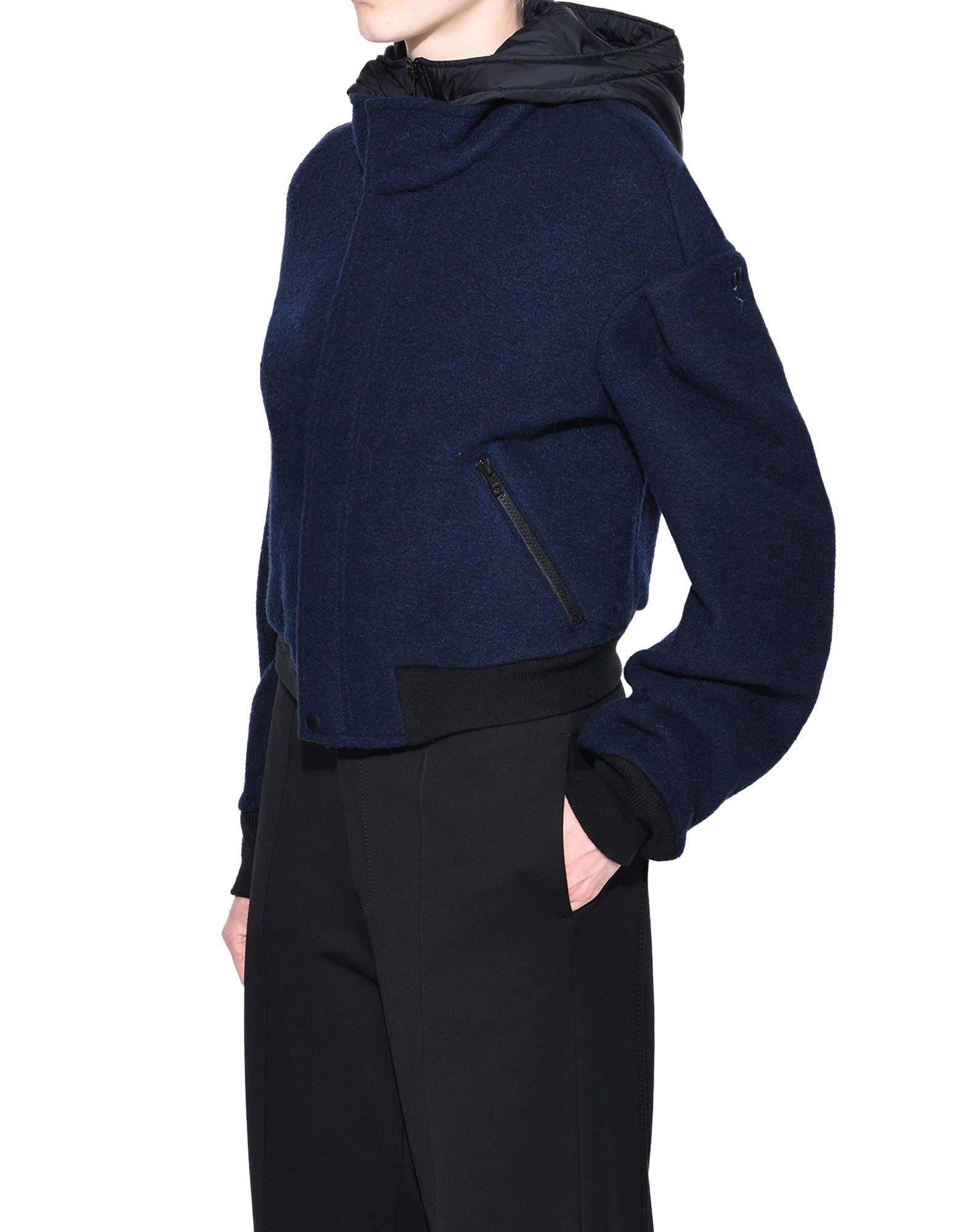 Y-3 Y-3 Wool Hoodie Jacket Jacket Woman e