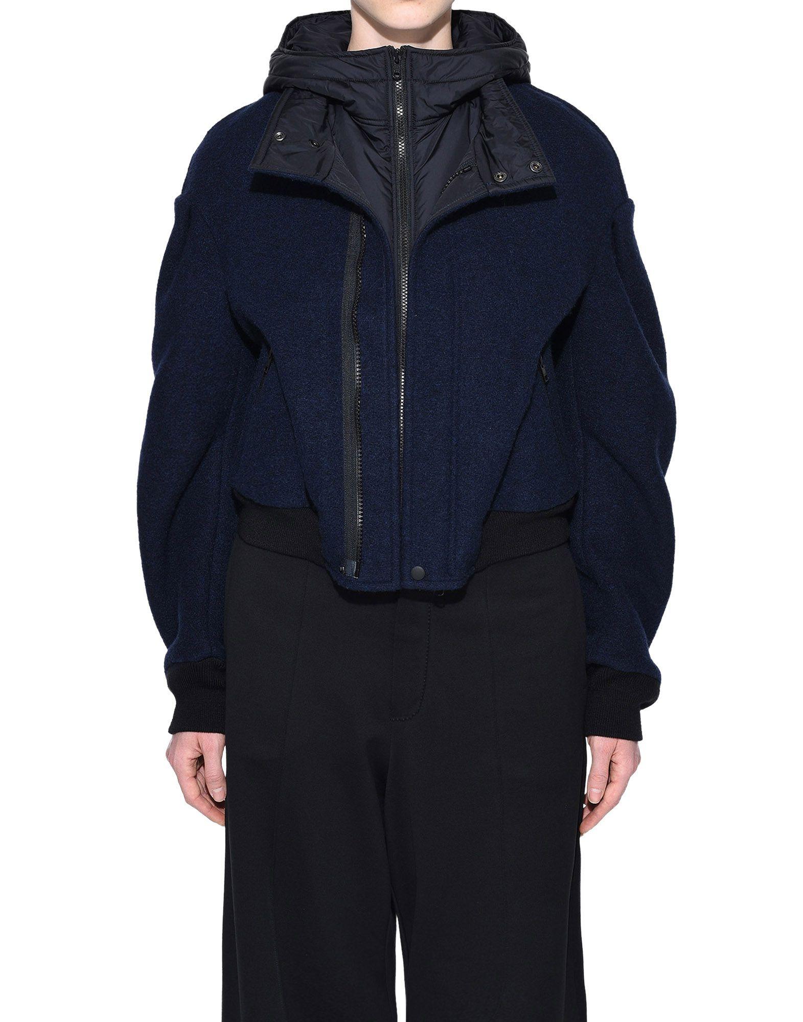 Y-3 Y-3 Wool Hoodie Jacket ブルゾン レディース r