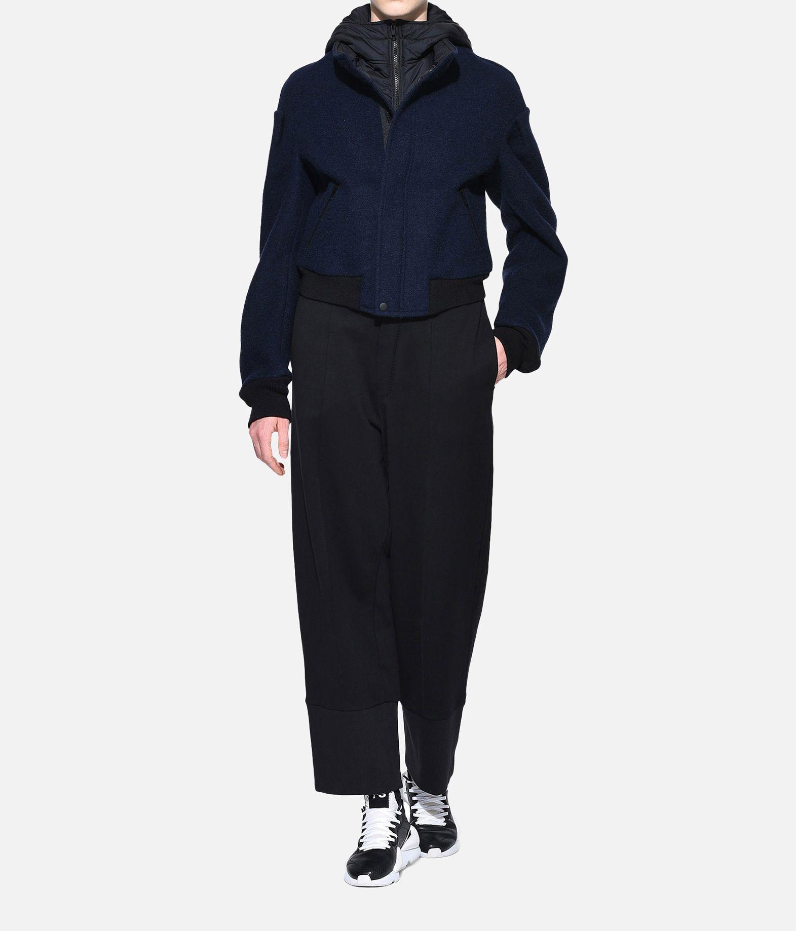 Y-3 Y-3 Wool Hoodie Jacket Giubbotto Donna a