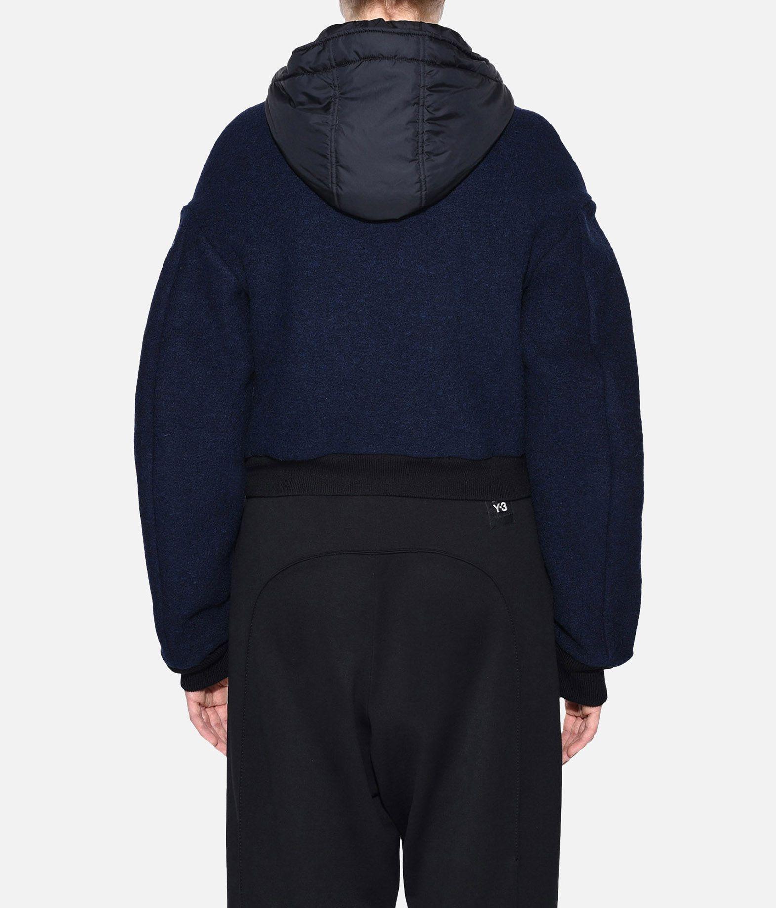 Y-3 Y-3 Wool Hoodie Jacket Giubbotto Donna d