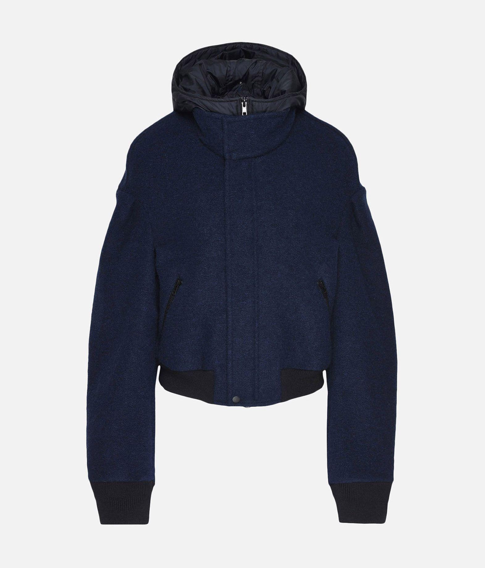 Y-3 Y-3 Wool Hoodie Jacket Giubbotto Donna f