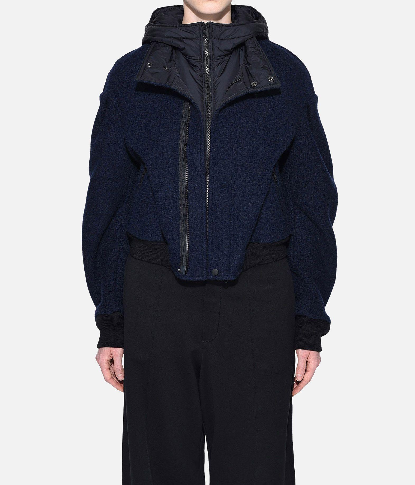 Y-3 Y-3 Wool Hoodie Jacket Giubbotto Donna r