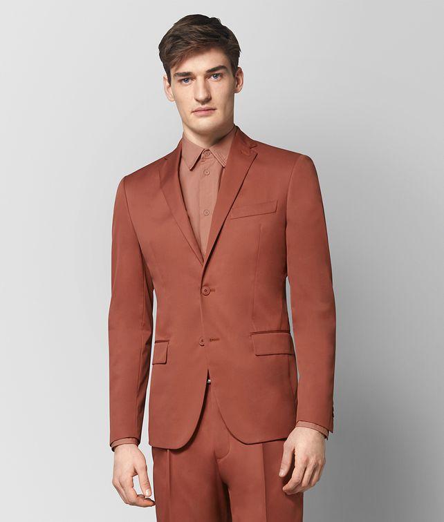 BOTTEGA VENETA DARK HIBISCUS COTTON JACKET Outerwear and Jacket Man fp