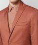 BOTTEGA VENETA DARK HIBISCUS COTTON JACKET Outerwear and Jacket Man ap