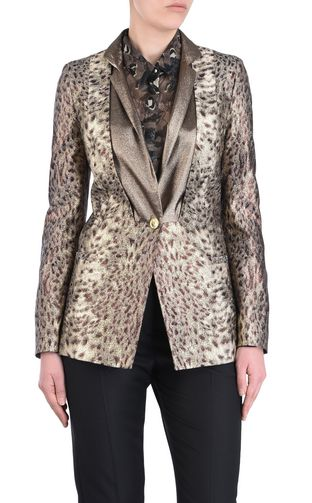 JUST CAVALLI Blazer Woman Animal-print blazer f