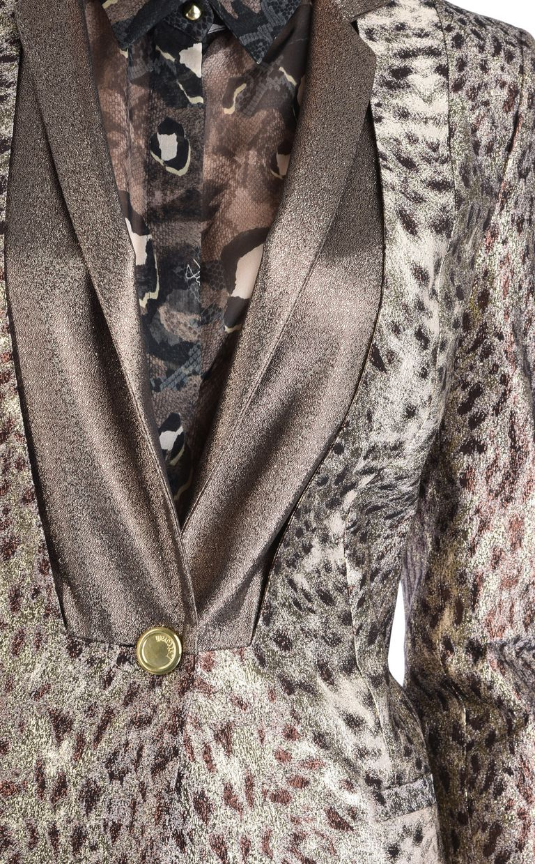 JUST CAVALLI Giacca formale animalier Giacca Donna e