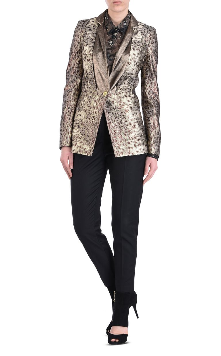JUST CAVALLI Animal-print blazer Blazer Woman r
