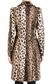 JUST CAVALLI Leopard-print coat Coat [*** pickupInStoreShipping_info ***] d