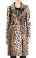 JUST CAVALLI Leopard-print coat Coat [*** pickupInStoreShipping_info ***] f
