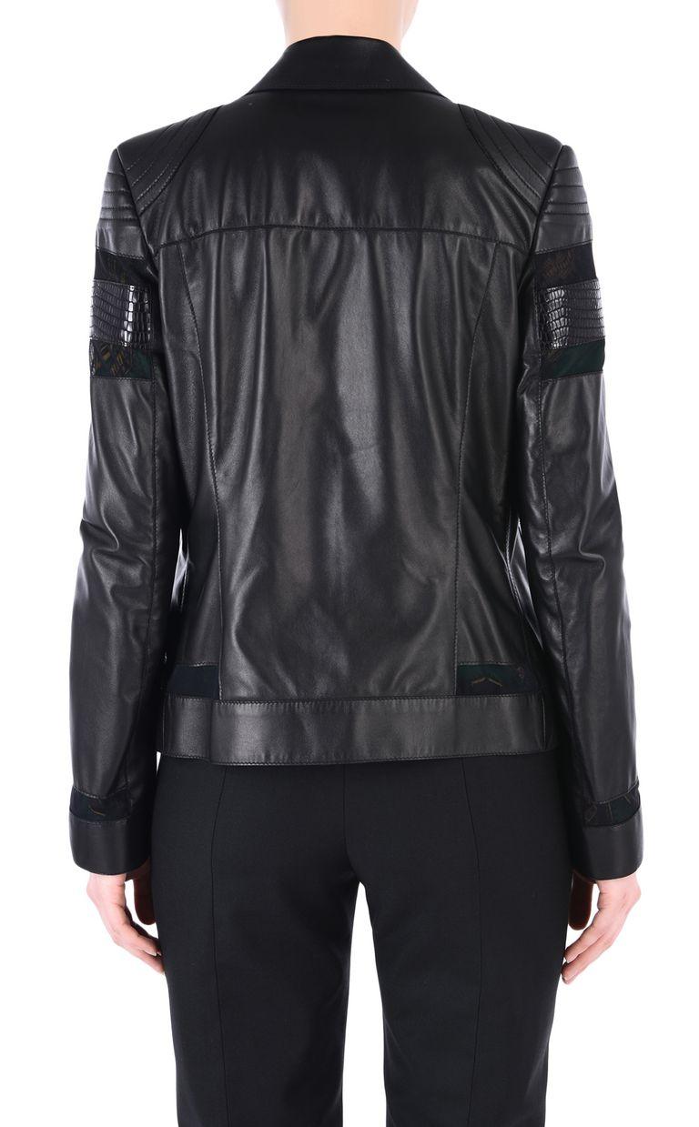 JUST CAVALLI Leather biker jacket Leather Jacket [*** pickupInStoreShipping_info ***] d