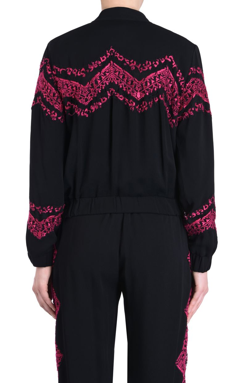JUST CAVALLI Jacket with embroidery details Jacket Woman d