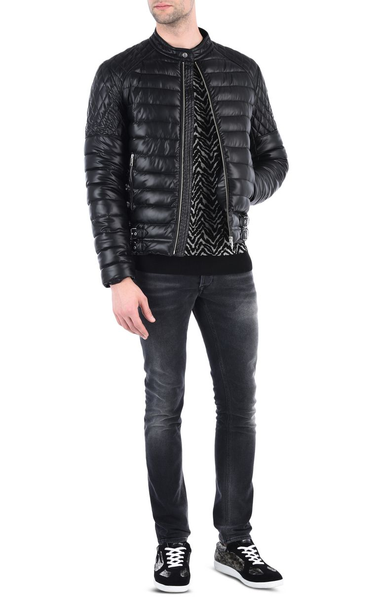JUST CAVALLI Quilted down jacket Jacket Man r