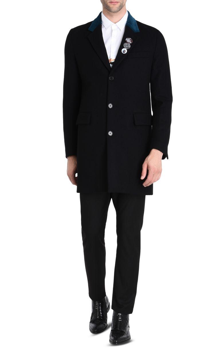 JUST CAVALLI Classic coat Coat Man r