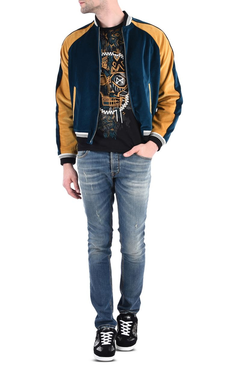 JUST CAVALLI Star track jacket Jacket Man r