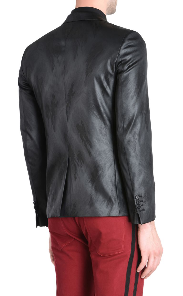 JUST CAVALLI Elegant high-shine blazer Blazer Man d
