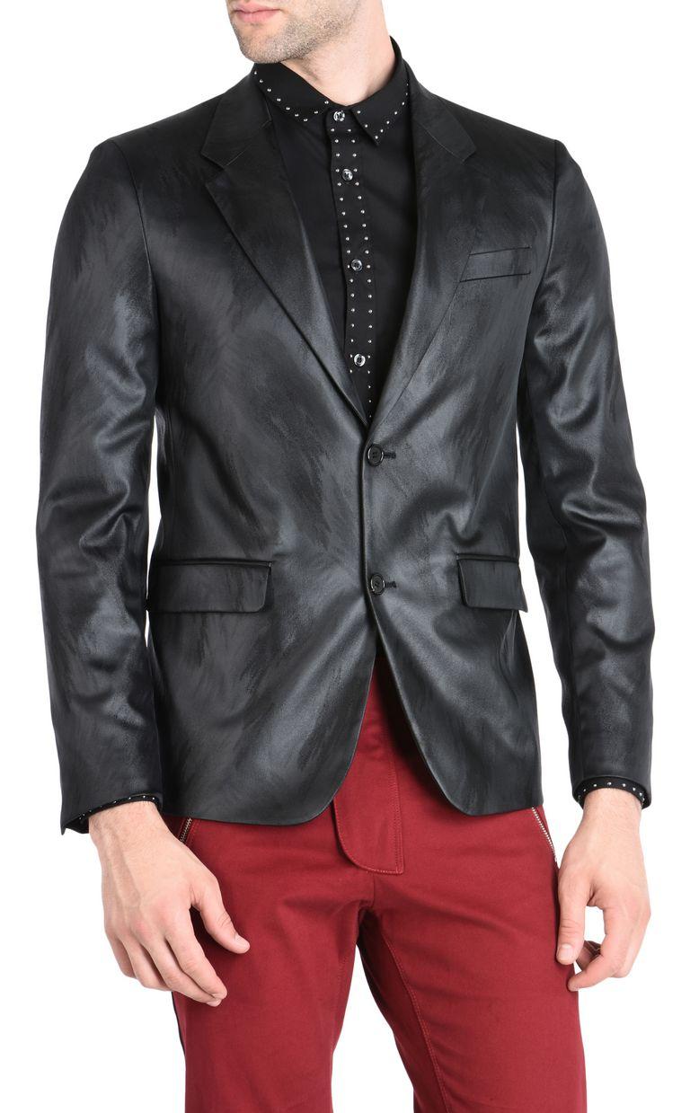 JUST CAVALLI Elegant high-shine blazer Blazer [*** pickupInStoreShippingNotGuaranteed_info ***] f