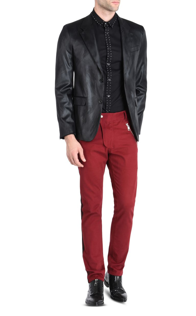 JUST CAVALLI Elegant high-shine blazer Blazer Man r