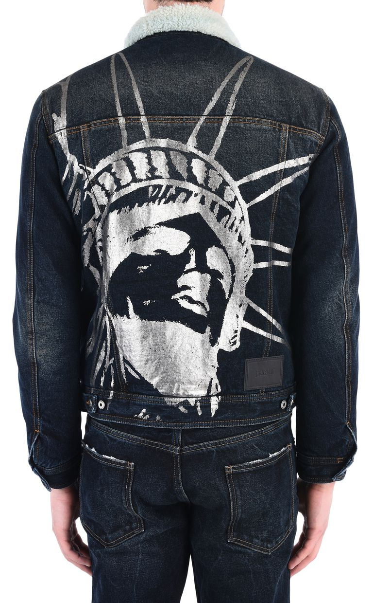 JUST CAVALLI Padded denim jacket Jacket Man d